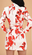 Load image into Gallery viewer, Floral blazer/dress