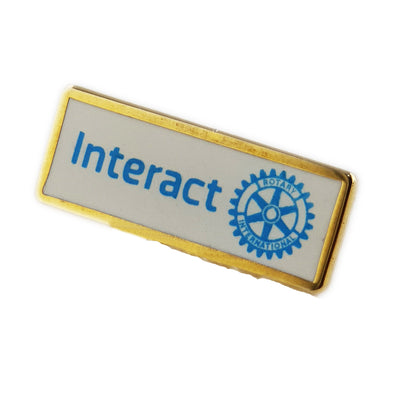 Interact Member Pin, Tej Brothers,  - Rotary International