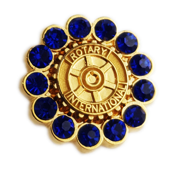 Blue Stone Pin, Tej Brothers,  - Rotary International