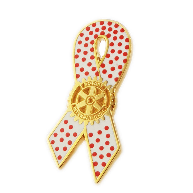Measles Awareness Pin, Tej Brothers,  - Rotary International
