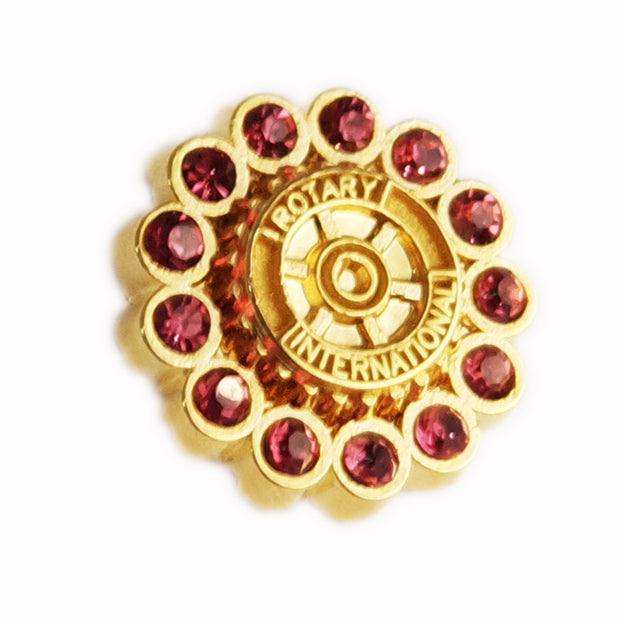 Fancy Rotary Pin - Awards California