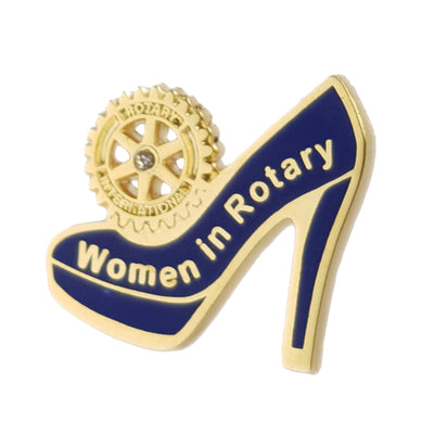 Women in Rotary (Also available with Magnetic Attachment), Tej Brothers, Rotary Pins - Rotary International