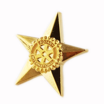 Star Rotarian Pin, Tej Brothers,  - Rotary International