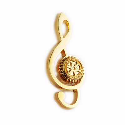Musical Rotarian Pin - Awards California