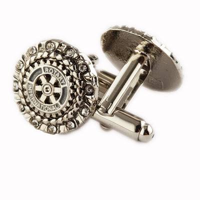 Rotary Cuff Links, Tej Brothers, Rotary Cufflink - Rotary International