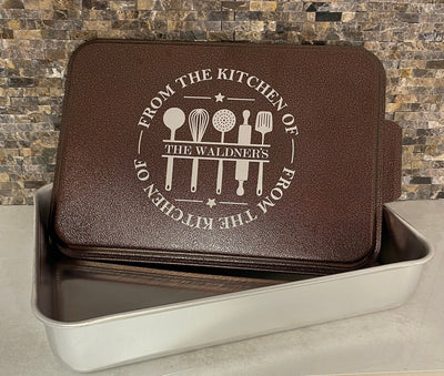 Personalized Baking Pan - Awards California