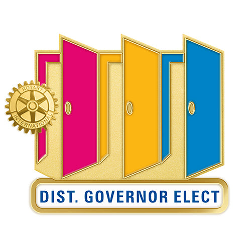 Theme Officer Pin - District Governor Elect - Awards California