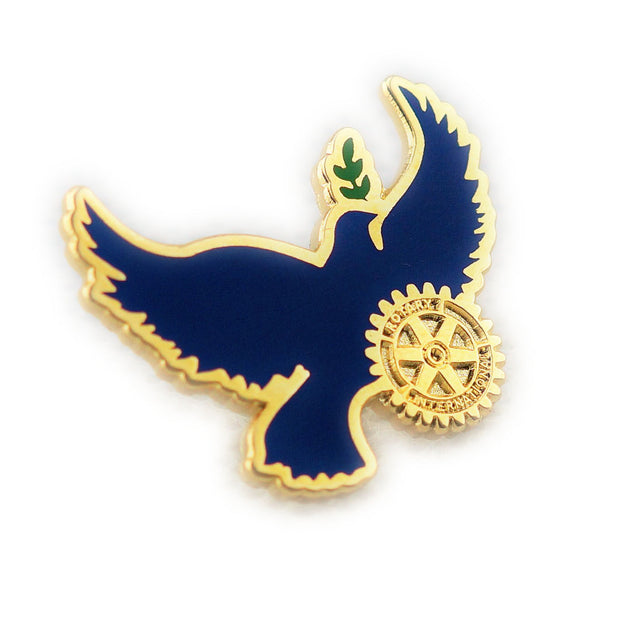 Peace Bird (Magnetic Attachment), Tej Brothers,  - Rotary International