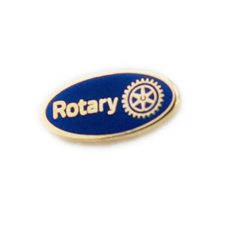 Blue Miniature Master Brand Pin (Also available in Magnetic Version), Tej Brothers,  - Rotary International