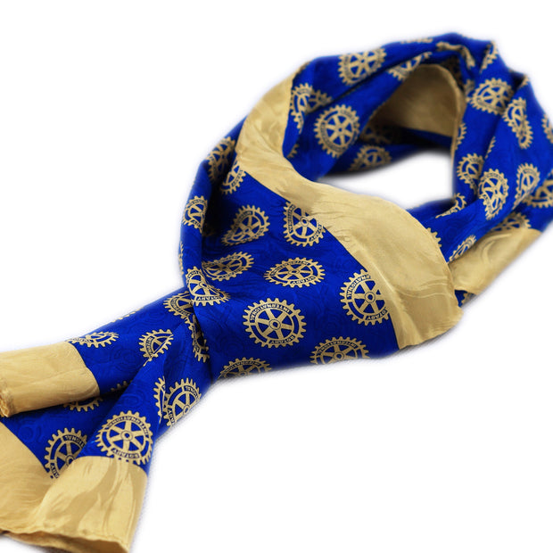 Rotary Silk Scarf - Awards California
