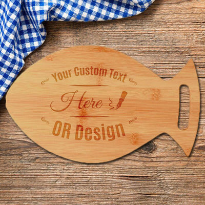Personalized Bamboo Cutting Board - Awards California