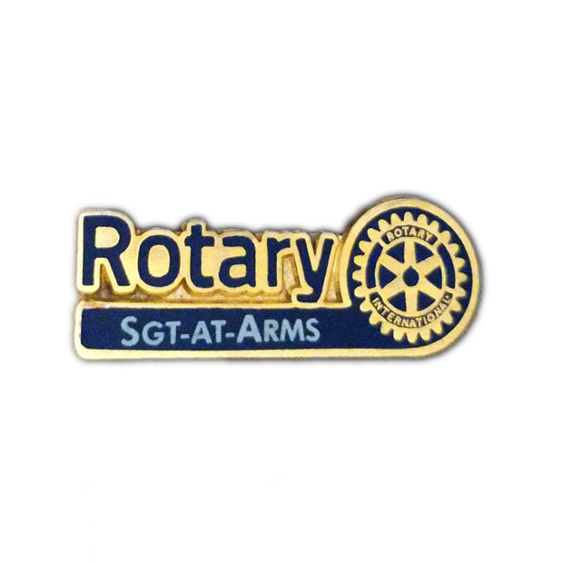 Officer Pin - Sergeant At Arms, Awards California,  - Rotary International