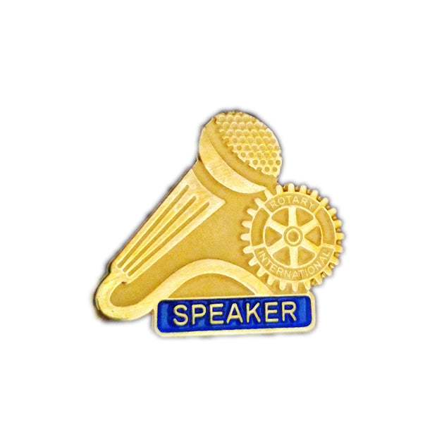Speaker Pin, Awards California,  - Rotary International