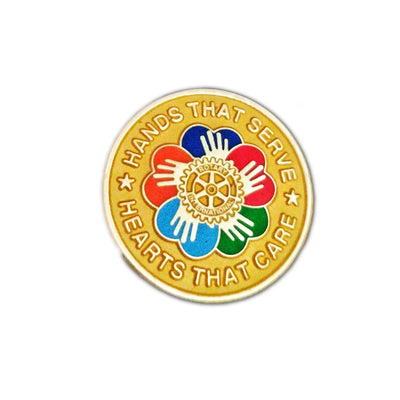 Hands that Serve. Hearts that care, Awards California,  - Rotary International