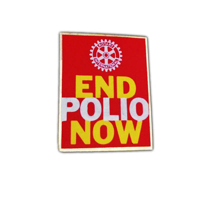End Polio Pin, Awards California,  - Rotary International