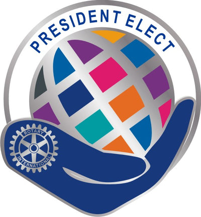 Theme Officer Pin - President Elect - Awards California