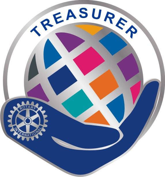 Theme Officer Pin - Treasurer - Awards California