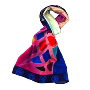 Theme 2021-2022 Printed Chiffon Scarf - Awards California
