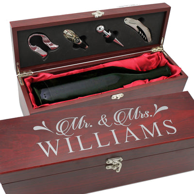 Personalized Wine Gift Box - Awards California