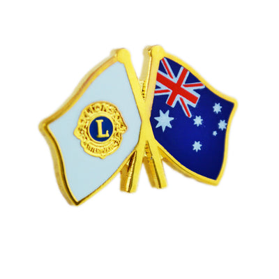Australia Flag Pin - Awards California