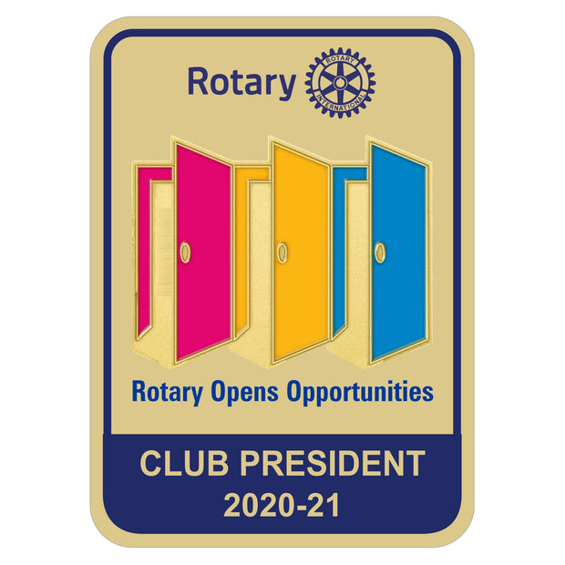Magnetic Pocket Badge, Tej Brothers, Pocket Badge - Rotary International