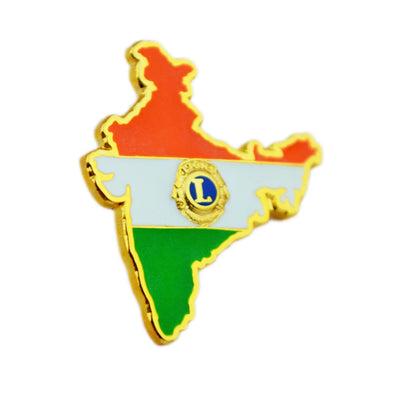Lions and India Lapel Pin - Awards California