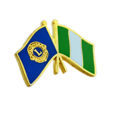 Nigerian Flag Pin - Awards California