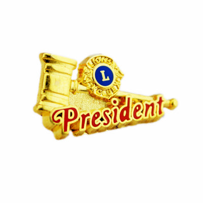 Club President Pin - Awards California