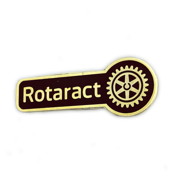 Rotaract Member Pin, Tej Brothers, lapel pin - Rotary International
