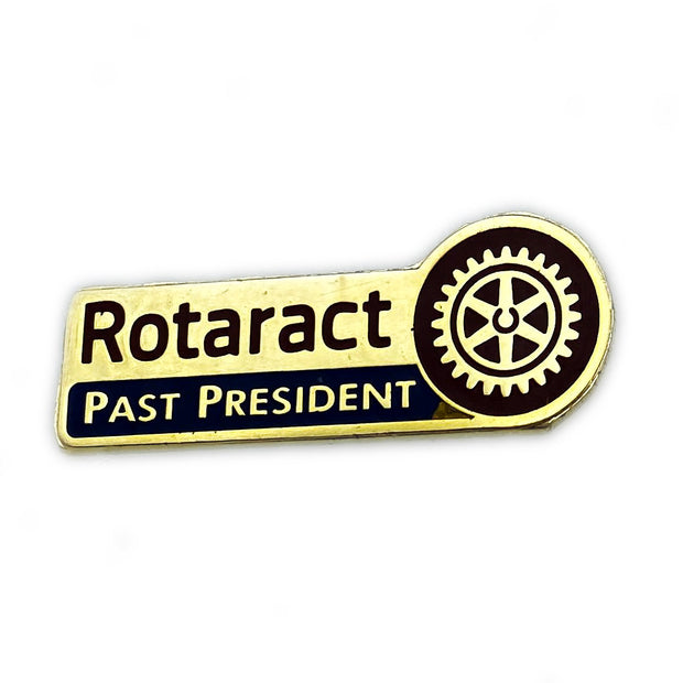 Rotaract Past President Pin, Tej Brothers, lapel pin - Rotary International