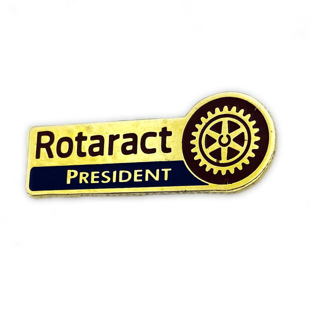 Rotaract President Pin - Awards California