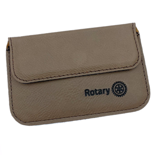 Business Card Holder, Awards California, wallet - Rotary International