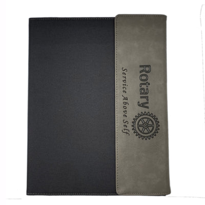 Canvas Portfolio w/Notepad, Awards California, portfolio - Rotary International
