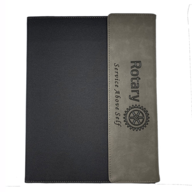 Canvas Portfolio w/Notepad (Personalization Available) - Awards California