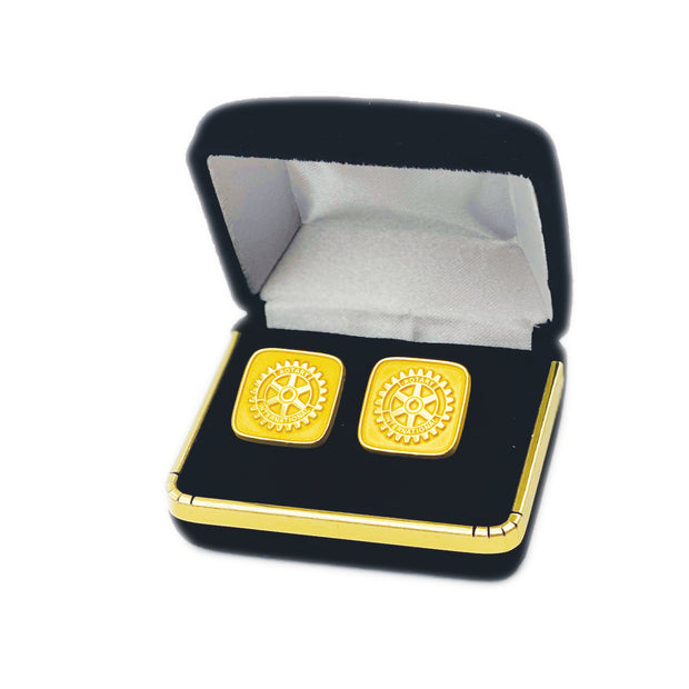 Rotary Cuff Links, Tej Brothers, Cuff Link - Rotary International