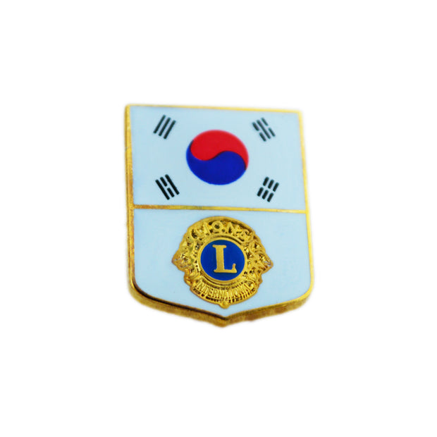 South Korean Flag Pin - Awards California