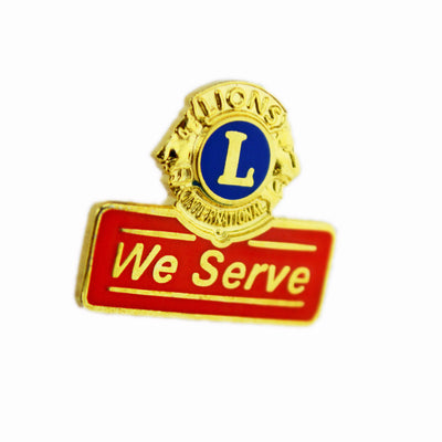 We Serve Pin - Awards California