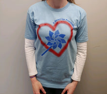 "Load image into Gallery viewer, ""A Heart for Prevention"" Short Sleeve T-Shirt"