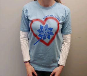 """A Heart for Prevention"" Short Sleeve T-Shirt"