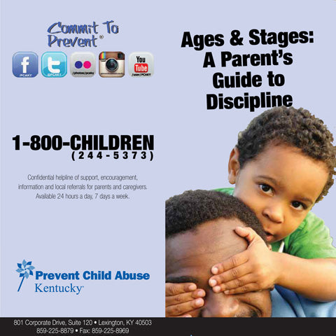 Ages and Stages: A Parent's Guide to Discipline Brochure (Bundle of 50)