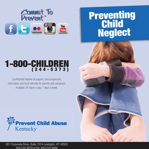 Preventing Child Neglect Brochure (Bundle of 50)