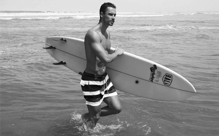 Bali: The Birthplace of Bistro St Tropez Board Shorts