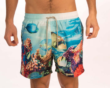 Coral Fish Board Shorts