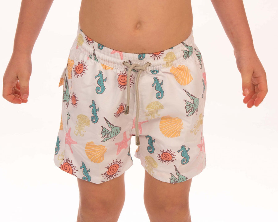 Starfish Board Shorts Boys - Bistro StTropez
