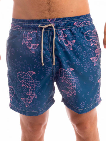 Koi Pond Fish Boardshort