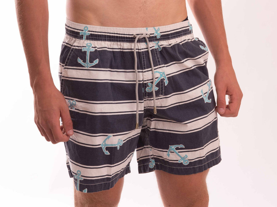 Anchor Cotton Beach Short - Bistro StTropez