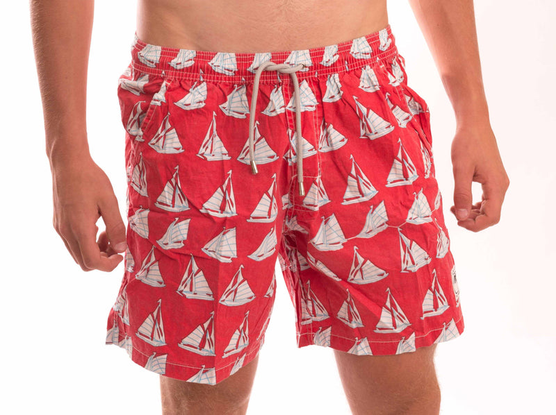 Boat Cotton Beach Short