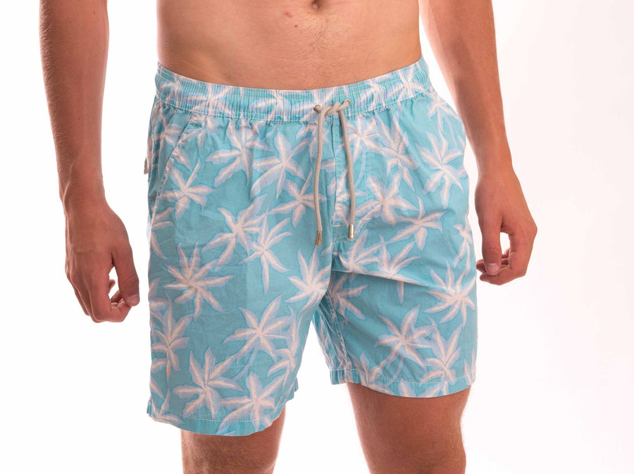 Leaf Cotton Beach Short - Bistro StTropez
