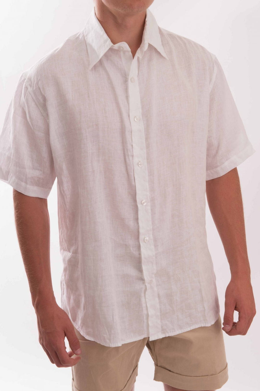 Linen Shirt Short Sleeve