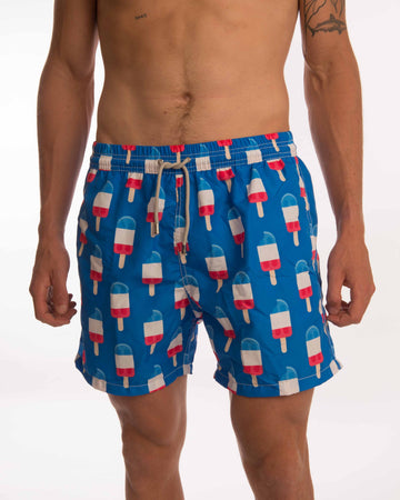 Popsicle Board Shorts - Bistro StTropez